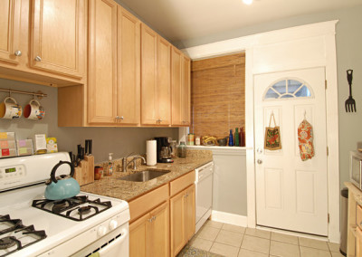 Typical design of kitchen in most units.
